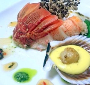 Crayfish Tail, Scallop, Lime Hollandaise recipes