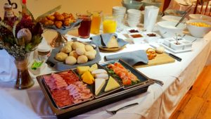 mimosa breakfast platters